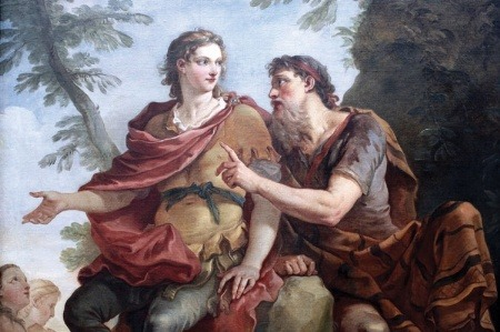 Telemachus and Mentor, by Charles Joseph Natoire